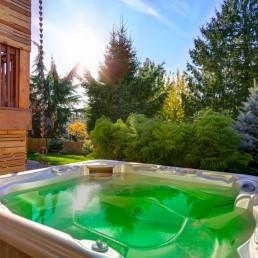 Eau Verte dans un spa